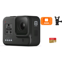 GoPro HERO8 Black With 32G SD Card + GoPro HERO8 Bite Mount + Floaty