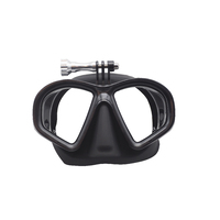 DivePRO Dive Mask Shadow with GoPro Mount Black
