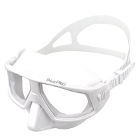 DivePRO Freediving Mask Zero White