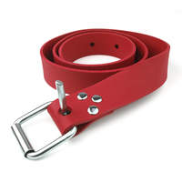 Sterling Red Marseillaise Weight Belt